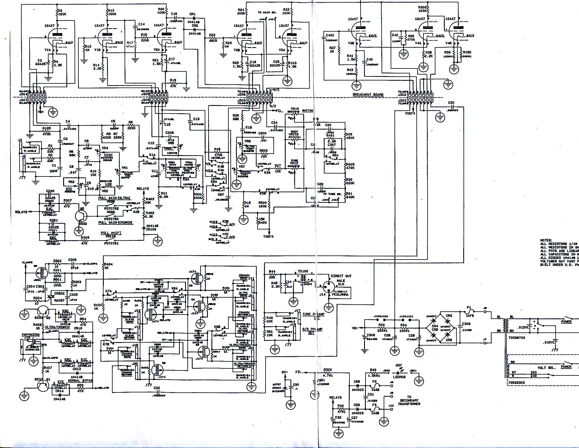 Im Yahica 20 Band Audio Equalizer Circuit Diagram Eq To Reciever Wiring