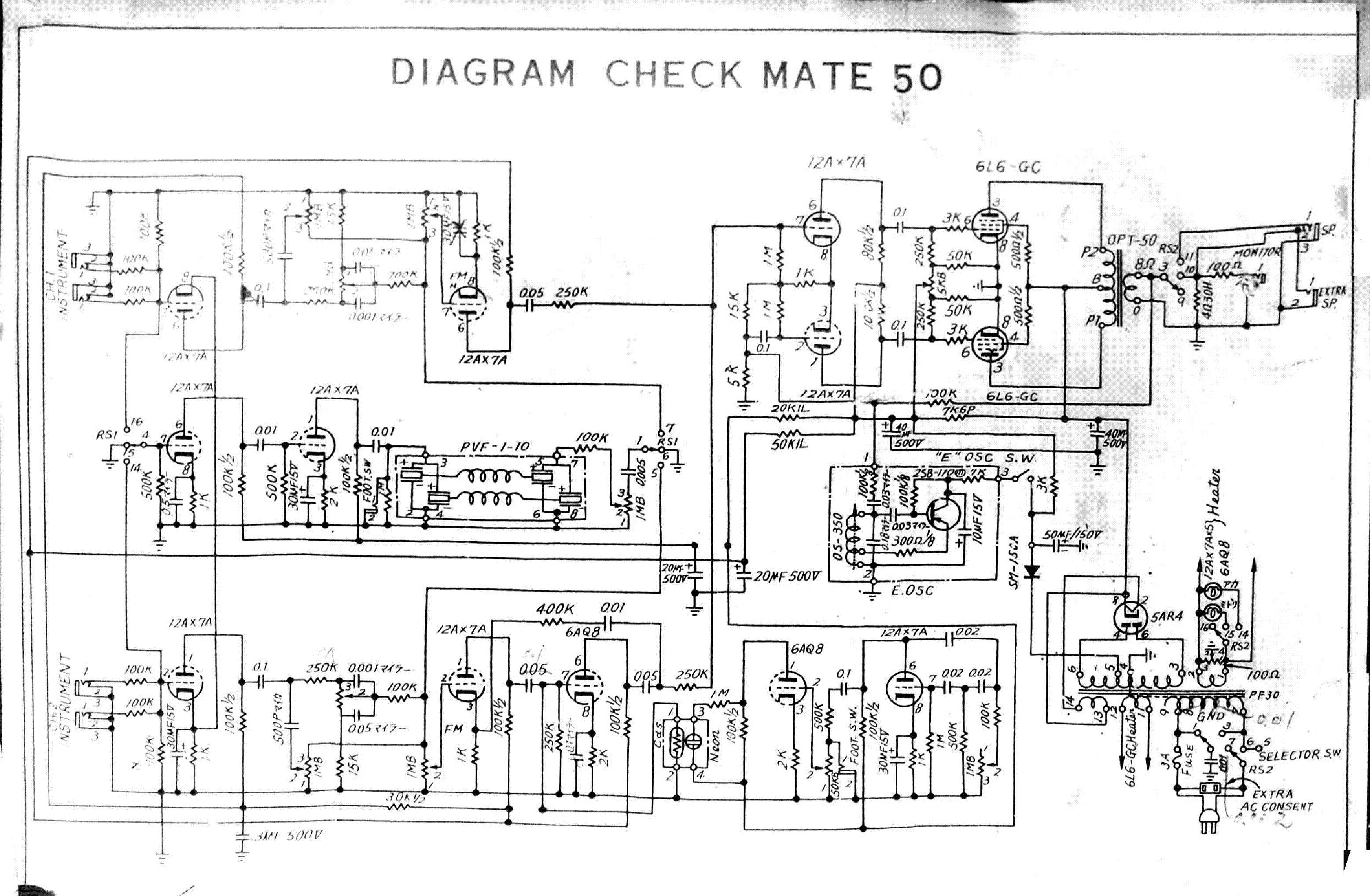 Schemat, obrazek: Firmowe/TEISCO-Japan/TEISCO_CHECKMATE_50.png