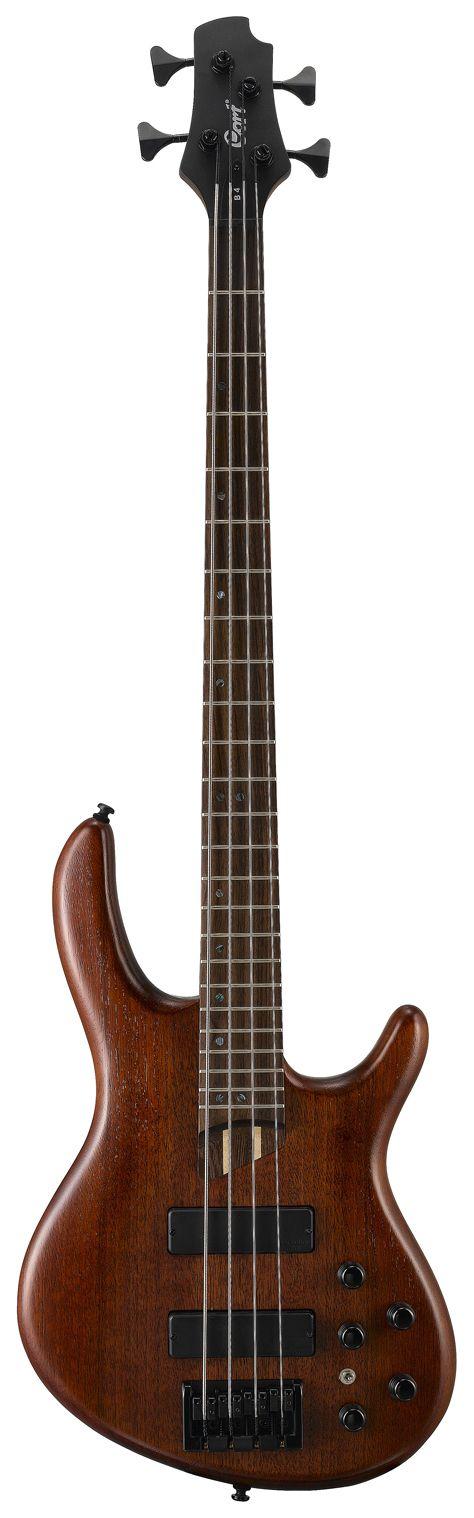 Gitara basowa CORT B4 tło