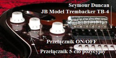 montaż dodatkowego przełącznika w gitarze