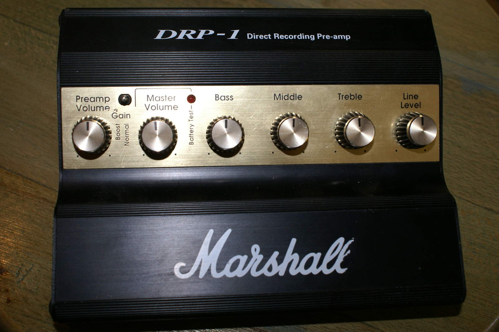 obrazek: [popular] Direct Recording Preamp, Marshall DRP-1,...