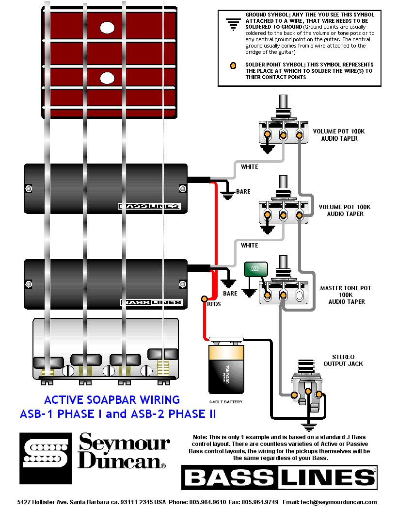 active_soapbar_bass 049 guitar wiring drawings, switching system bass guitar active active pickup wiring at alyssarenee.co