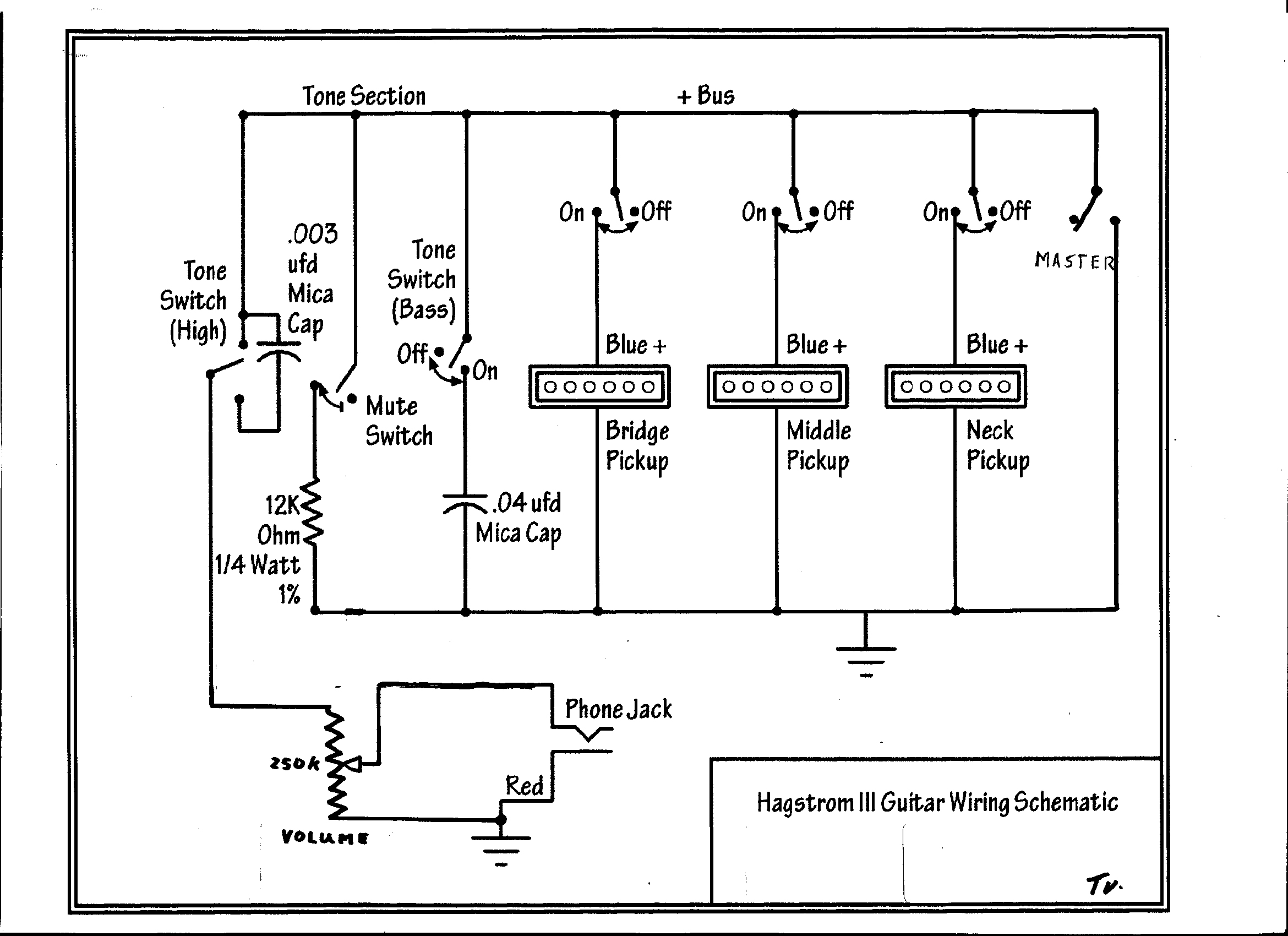 Hagstrom_III_Schematic guitar wiring drawings, switching system hagstrom hagstrom iii hagstrom swede wiring diagram at bayanpartner.co