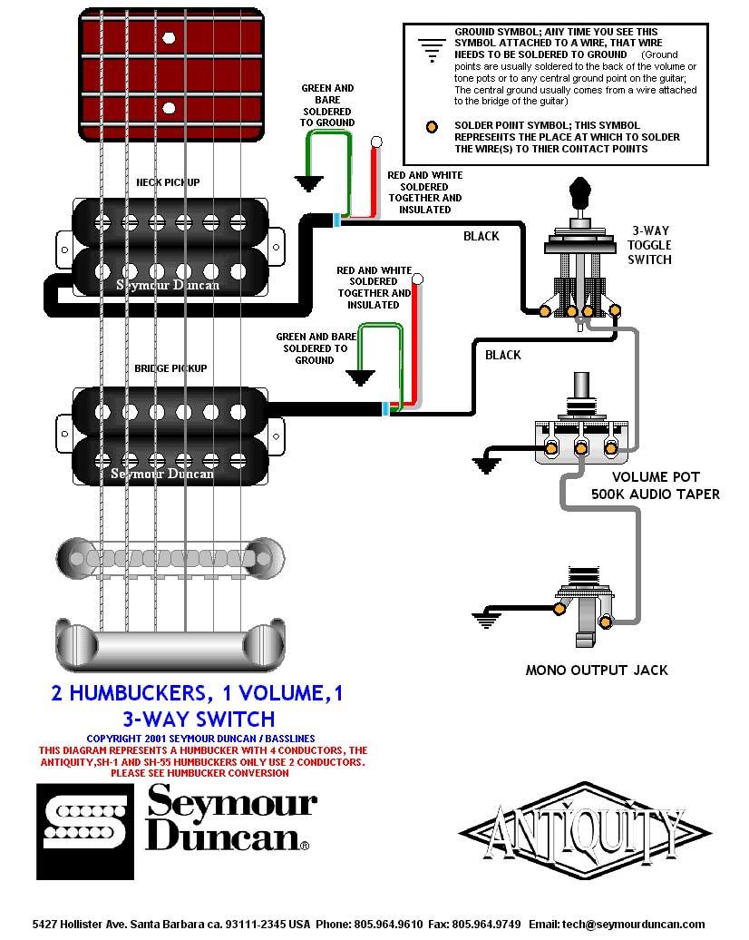 пайка схемы у электрогитары