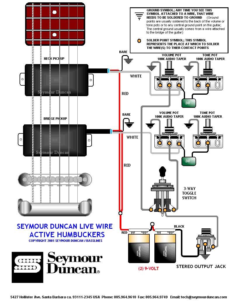 Emg B Pickups Wiring Diagram - Data Wiring Diagram  String B Emg Hz Wiring Diagram on