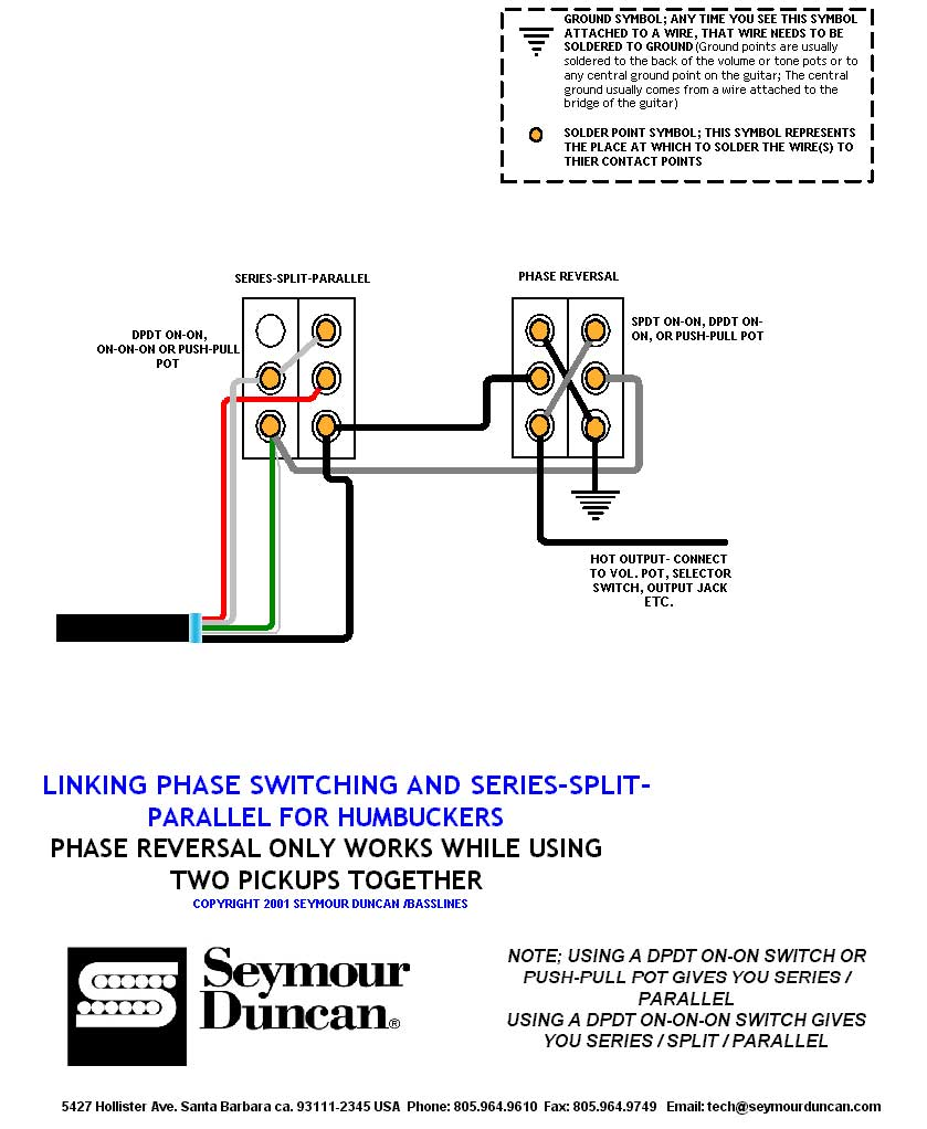 Series Wiring Diagram : Emg wiring diagram get free image about