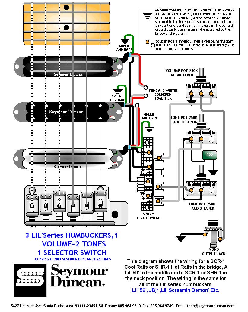 1960s Strat Wiring Diagram Seymour Duncan Active Pickups Schematic Stratocaster Guitar Diagrams Images Hss Nilza Net