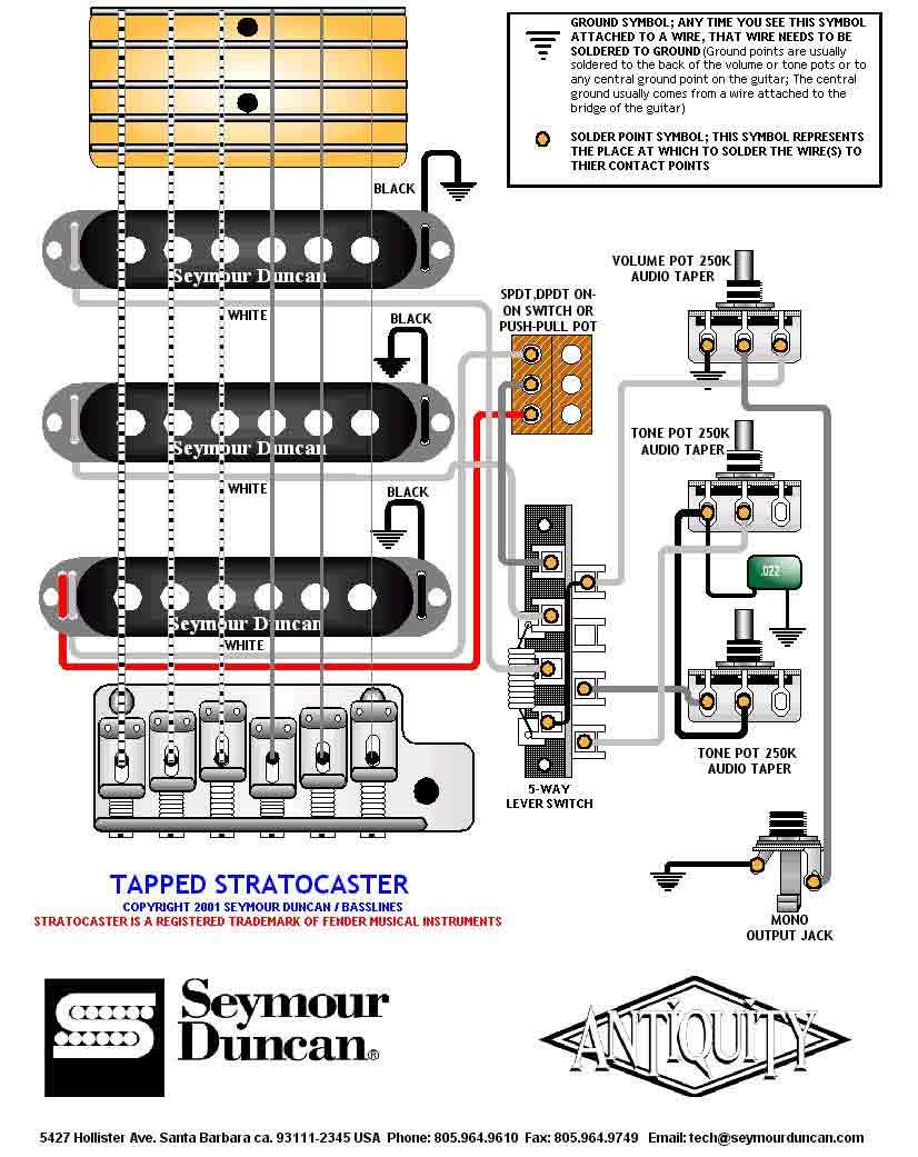 Электрогитара схем
