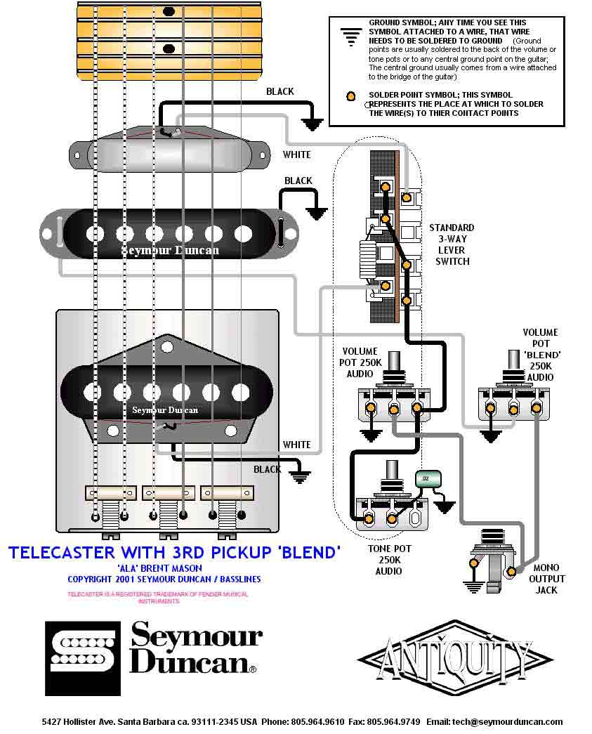 Seymour 3pickup_tele_blend 038 guitar wiring drawings, switching system telecaster seymour telecaster 3 pickup wiring diagram at highcare.asia
