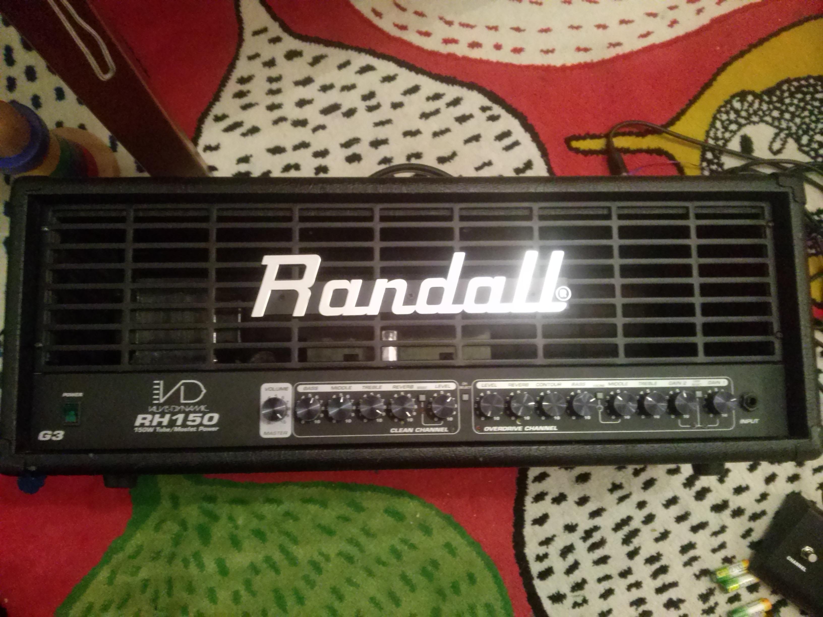 schemat /aukcje/Randall-RH150 RandallRH150Przod.jpg