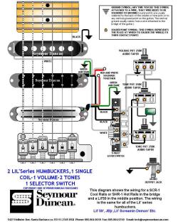 image mini Seymour strat-w-2lil_hum_in_bridge2 095