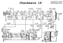 image mini Teisco_Checkmate_18_audio_pa_reverb_sch
